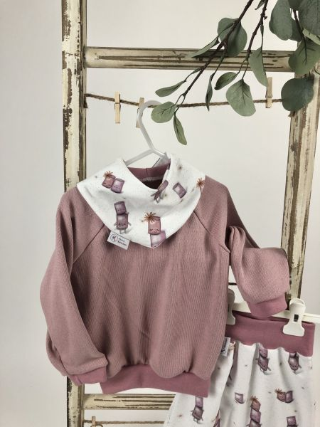 Pullover Feinstrick Altrosa