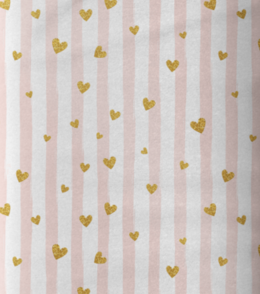 Sweat Stripes and Hearts