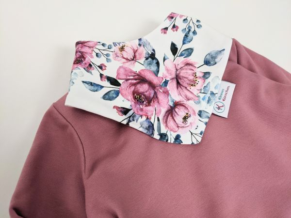 Tuch Pinke Blumen