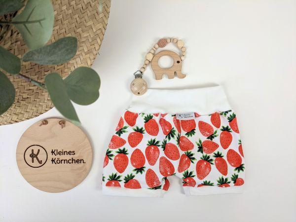 Kurze Pumphose Erdbeeren