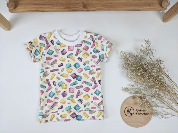 Shirt Bausteine Mädchen