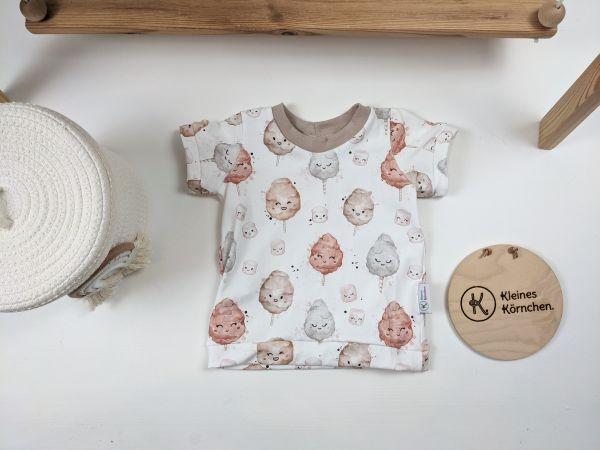 T-Shirt Zuckerwatte beige