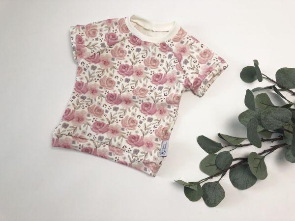 Shirt Blumen Größe 74