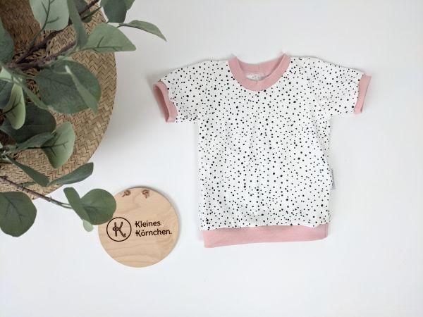 T-Shirt black Dots