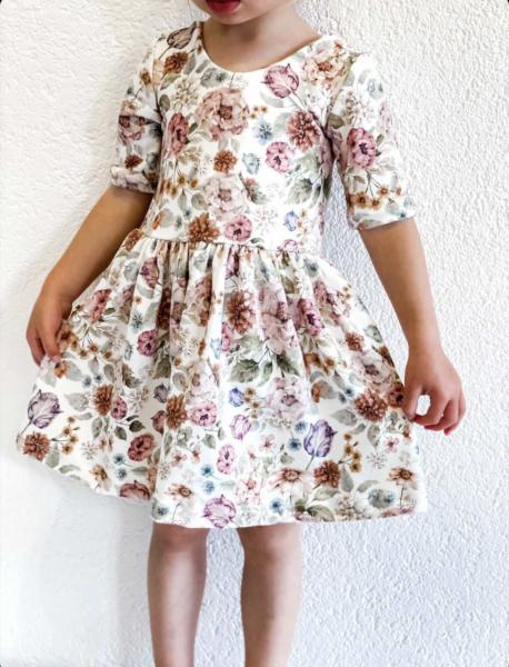 Vallejo Dress Boho Flowers