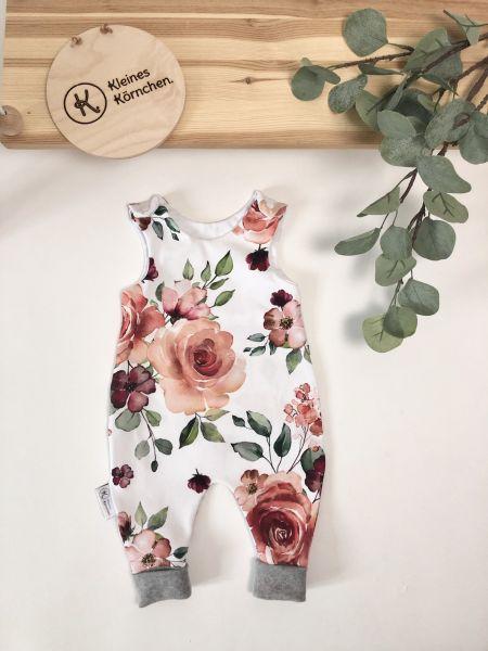 Strampler lovely Roses