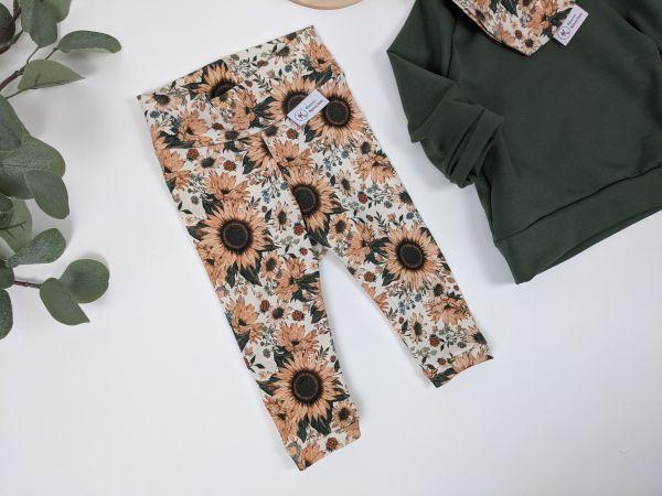 Leggings Sonnenblumen